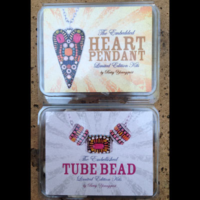 New Embedding Jewelry Kits Designed by Betsy Youngquist