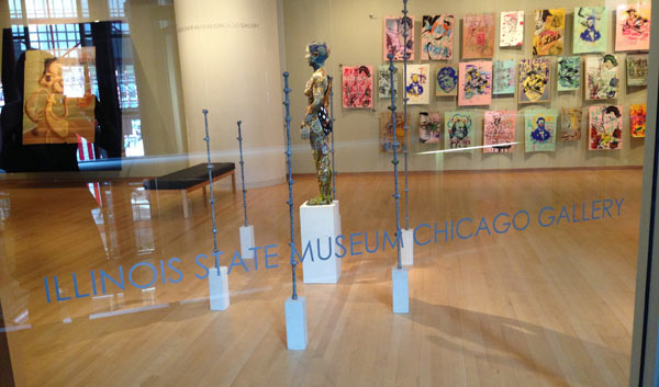 """""""Everything in Place"""" at the IL State Museum in Chicago July 15- November 1, 2013"""