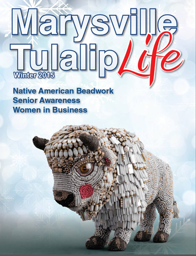 Thanks to Marysville Tulalip Life for giving Dancing Boy the cover!