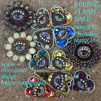 Spring FLASH Sale for two days only...Now thru March 31, 2016. Click on STORE