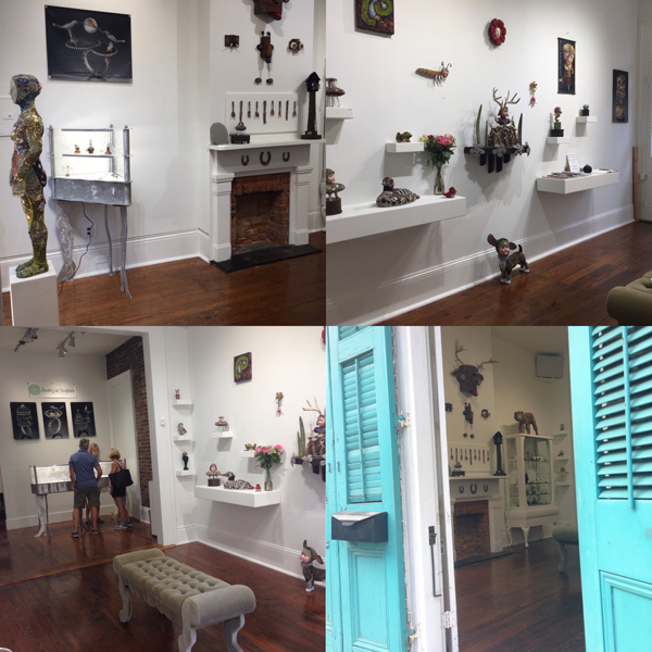 The Grand Opening of Gallery Two New Orleans is October 22, 2016. 6-9 PM GALLERY TWO is located at 831 Royal Street, New orleans, LA